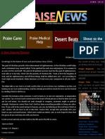 Praise News - June 2010