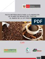 Pauta Planes de Negocio Cafe