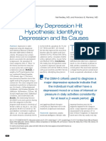 Nedley Depression Hit Hypothesis Identifying Depression and Its Causes