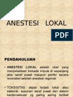 ...Anestesi Lokal