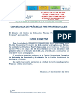 Constancia PPP
