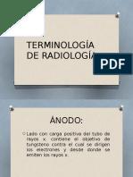 Terminologia de Radiologia