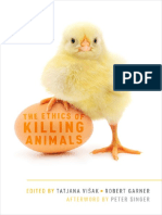 Tatjana Visak, Robert Garner, Peter Singer-The Ethics of Killing Animals-Oxford University Press (2015)
