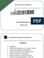 Slides Apostila Analise Custos 1 2013