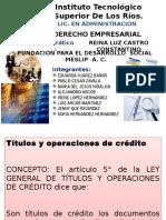 Unidad 4 Derecho Empresarial