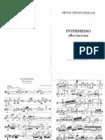 Brian Ferneyhough - Intermedio Alla Ciaccona