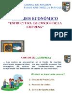 Clase 9 - Análisis de Mercado - Estructura de Costos de La Empresa