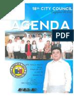 January 23, 2017 Agenda