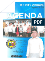 December 19, 2016 Agenda