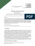 emotion and self control.pdf