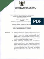 Permen ATR/KaBPNRI 18 Tahun 2016 Pengendalian Penguasaan Tanah Pertanian