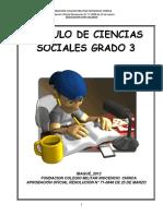 Modulo de Sociales Grado 3 (2012)