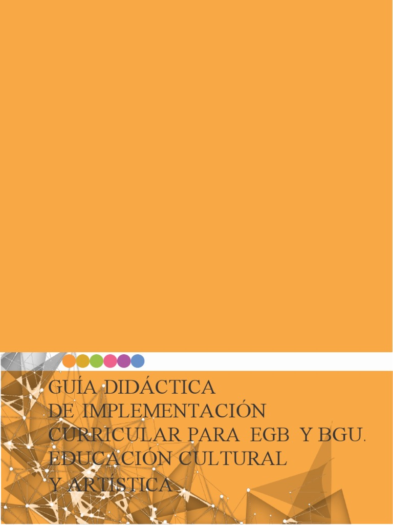 Guia de Implementacion Del Curriculo de Eca