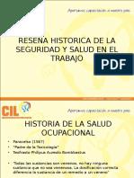Historia Seguridad y Salud en El Trabajo