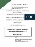 MPNP Pago a Proveedores -V1-May-2006