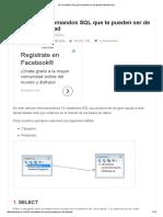 10 Comandos SQL Que Te Pueden Ser de Utilidad _ WebTursos