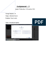 Assignment 01 14th December, 2016