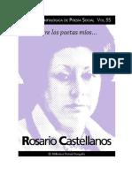 Castellanos Rosario - Poesia