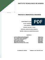 Practica No.3 Hidraulica