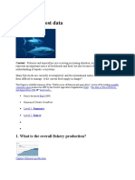 Fisheries Latest Data