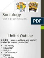 Sociology Unit4socialinstitutionspowerpoint 140425093714 Phpapp02