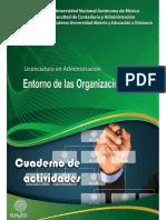 Cuaderno de Trabajo - Entorno de las Organizaciones - UNAM