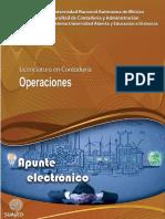 Apuntes - Operaciones - Contabilidad - UNAM
