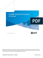 Introduction to GeoEvent Processor - Module 2