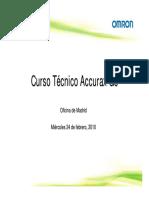 Curso Tecnico - Accurax G5