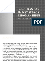 Al-quran Dan Hadist Sebagai Pedoman Hidup 2
