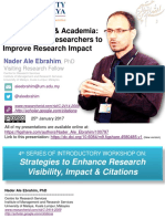 ResearchGate and Academia