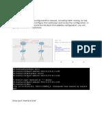 IPV6 configuration CCNA