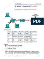 5.2.3.7 Lab - Configuring Port Address Translation (PAT) - ILM.pdf