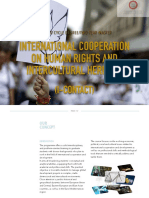 International Cooperation on Human Rights and Intercultural Heritage