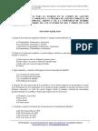 Test Agentes Forestales Madrid 2003