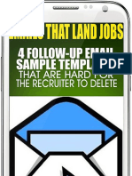 Emails That Land Jobs