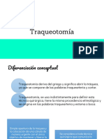 Traqueotomia y Fractura Nasal