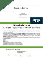 Método de Decroly