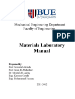 Experimental Lab Manual
