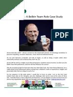 Belbin.es- Roles de Steve Jobs