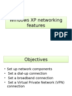 Windows Xp Networking Features