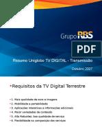 Resumo Uniglobo TV DIGITAL