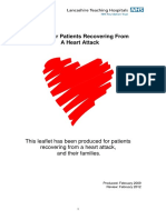 Advice for Patients Recovering From a Heart Attack