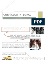 Currículo Integral