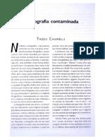 Tadeu Chiarelli - A Fotografia Contaminada