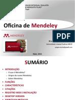 Oficina Mendeley MPM