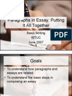 Essay Basic Writing302