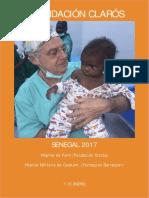 Viaje Humanitario Senegal 2017 realizado por Fundación Clarós.