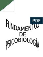 Fundamentos de Psicobiología - Apuntes Facultad Psicología de Oviedo