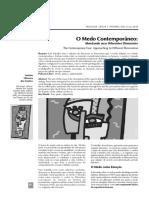 O Medo Contemporâneo - Abordando Suas Diferentes Dimensões